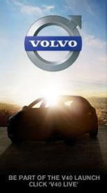 Volvo v40 live launch