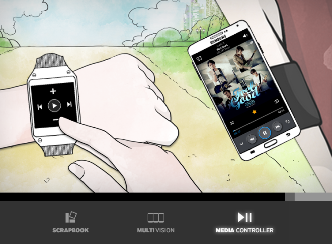 Samsung Galaxy Note3_Music Experience
